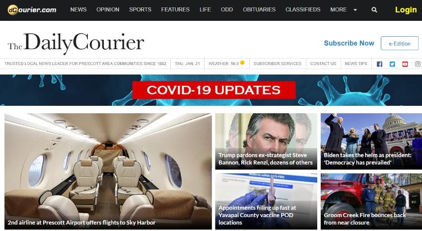Arizona Daily Courier