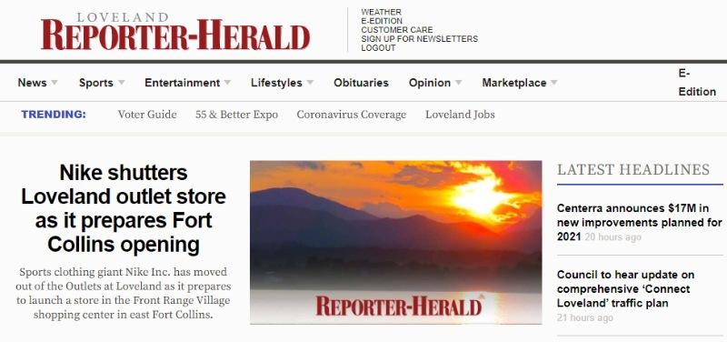 colorado loveland reporter herald