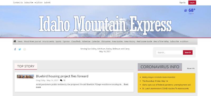 idaho mountain express